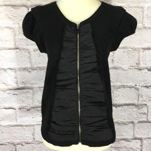 Anthropologie Leifsdottir size S sweater black